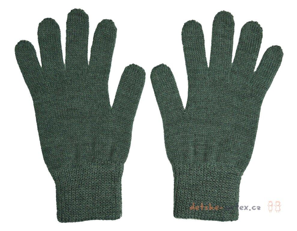 pletené prstové šedé rukavice pro dospělé a dívky - detske-artex.cz f7efca6f80