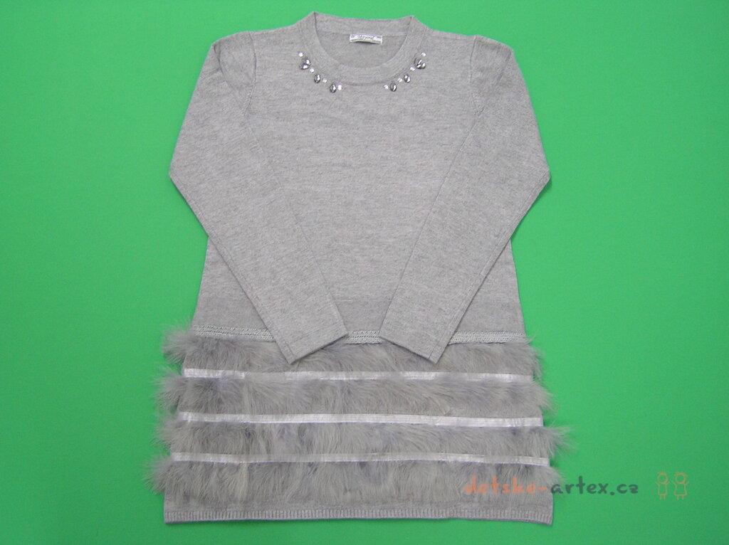 815733956197 elegantní dívčí pletené šaty Mayoral 7926 - detske-artex.cz