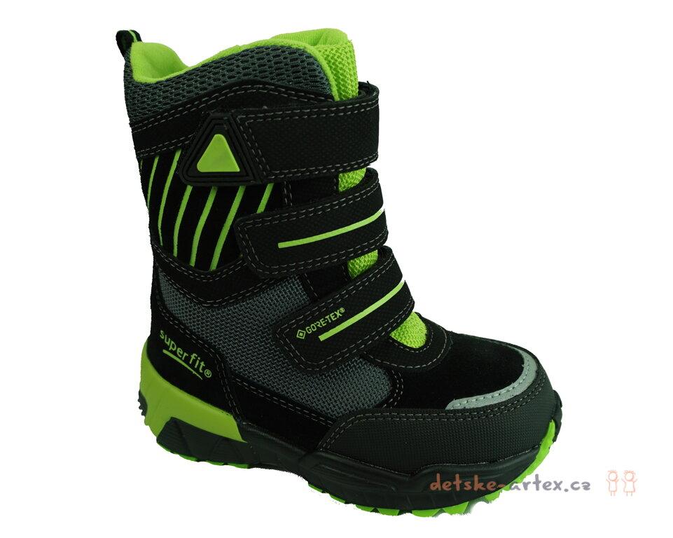 a87c1db9975 dětské zimní boty Superfit superwarm