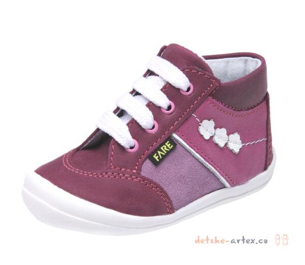Fare 2121191 šněrovací dětská kotníčková obuv velikost 19 až 24. dětské  boty Fare 535263c5bd