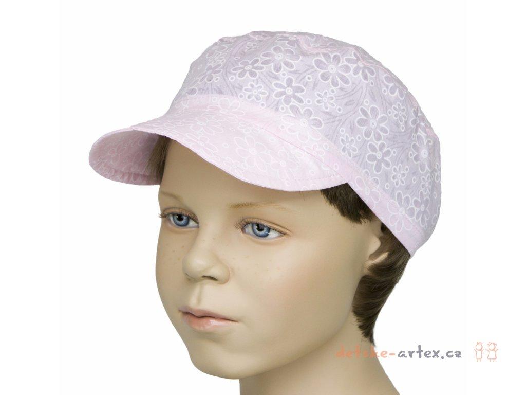 letní čepice bekovka dívčí pro obvod hlavy 48 až 52 cm - detske-artex.cz 9a7b4a7b09