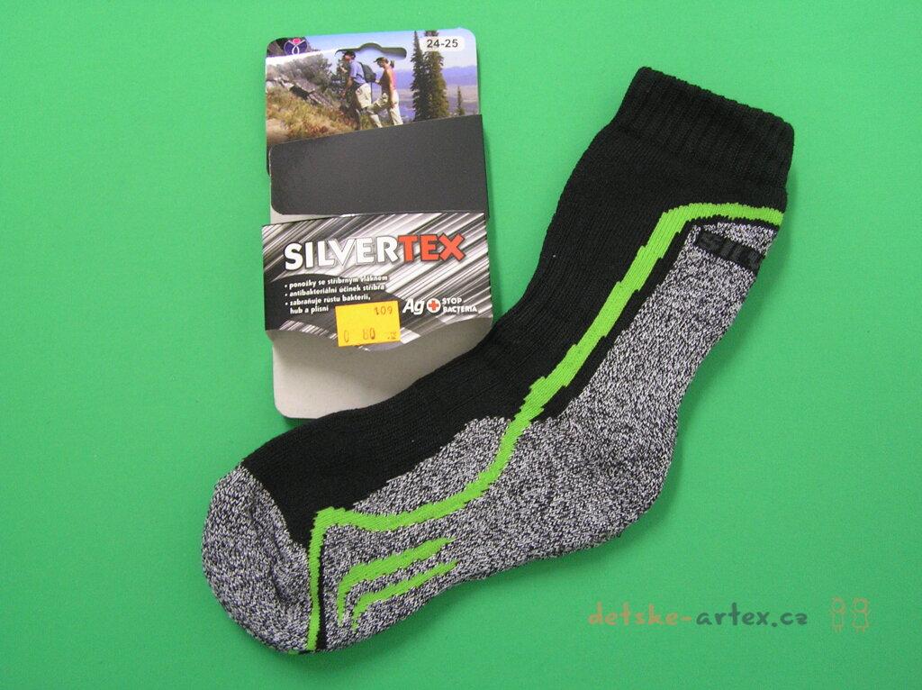teplé ponožky se stříbrným vláknem pro délku chodidla 24 až 29 cm ... 4fed5b3ee9
