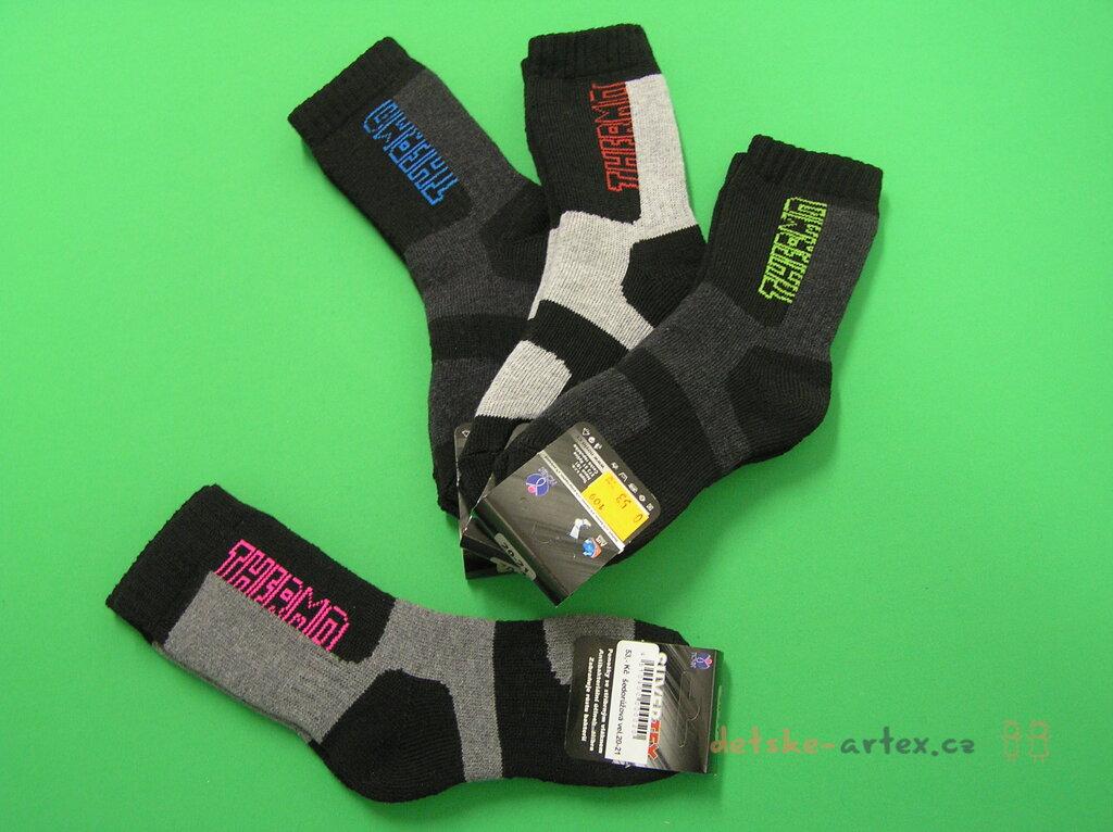 thermo ponožky se stříbrným vláknem pro délku chodidla 26 až 27 cm ... 62200cf1bd