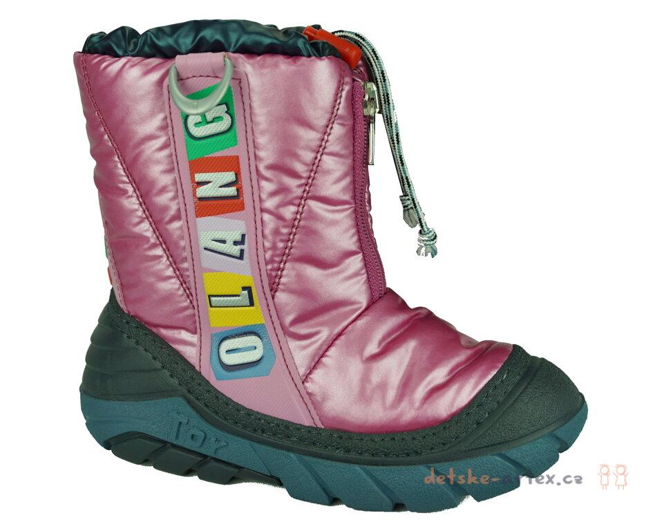 dívčí zimní boty Olang velikost 27-28 - detske-artex.cz c180688449