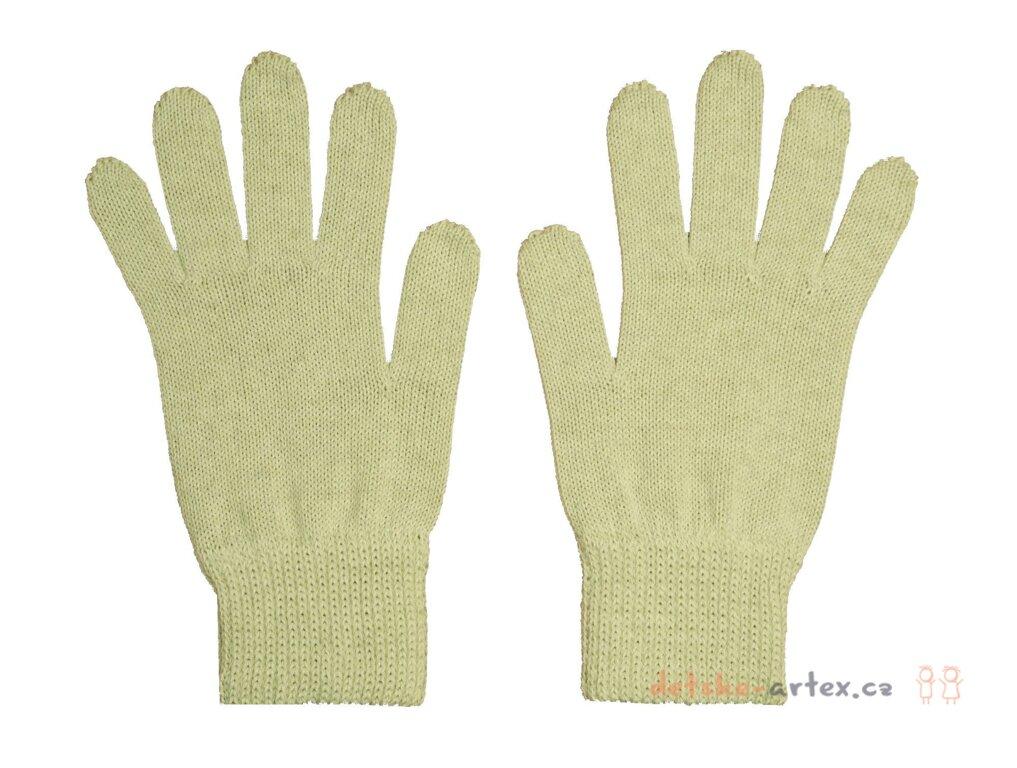pletené prstové béžové rukavice pro dospělé a dívky - detske-artex.cz a5b243a1df