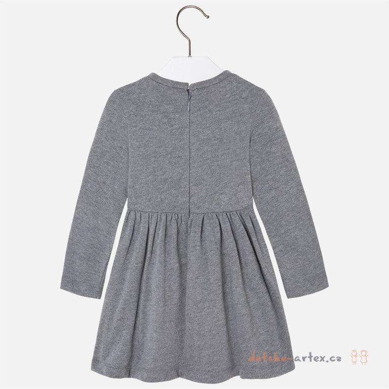 e226ad22eef dívčí šaty s dlouhým rukávem Mayoral - detske-artex.cz