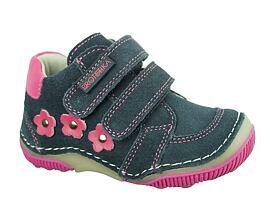 dívčí kotníkové boty na suchý zip - detske-artex.cz 91eb211014