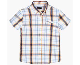 chlapecká kostkovaná košile s krátkým rukávem Mayoral 6148 7bf7f40325