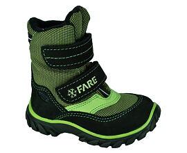 chlapecké zimní boty na suchý zip - Fare - detske-artex.cz 07d0352037